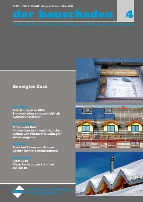 Ausgabe Feb/Mär 2014<br>Geneigtes Dach