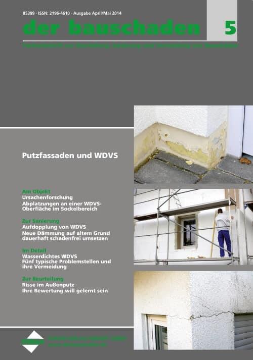 Ausgabe Apr/Mai 2014<br>Putzfassaden und WDVS