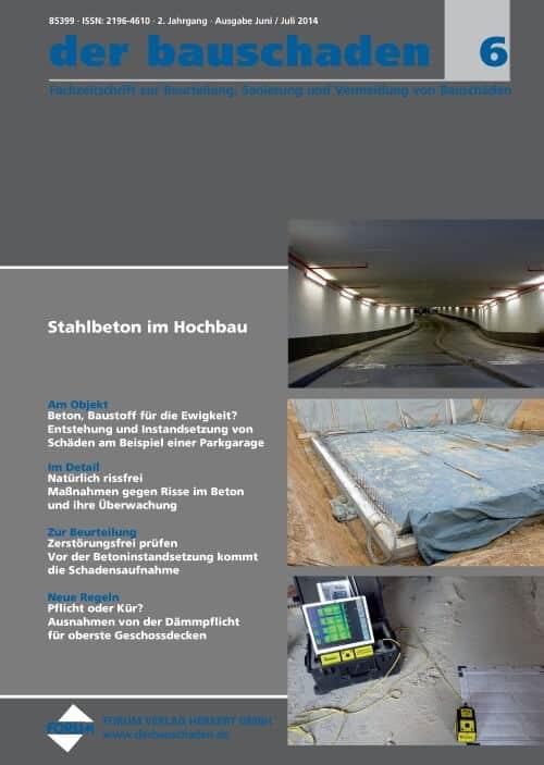 Ausgabe Jun/Jul 2014<br>Stahlbeton im Hochbau