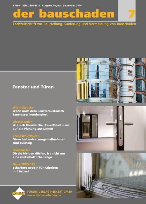 Ausgabe Aug/Sep 2014<br>Fenster und Türen