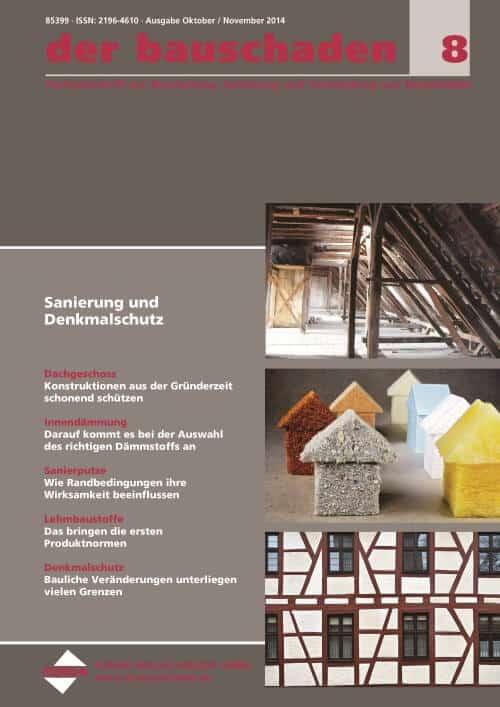 Ausgabe Okt/Nov 2014<br>Sanierung und Denkmalschutz