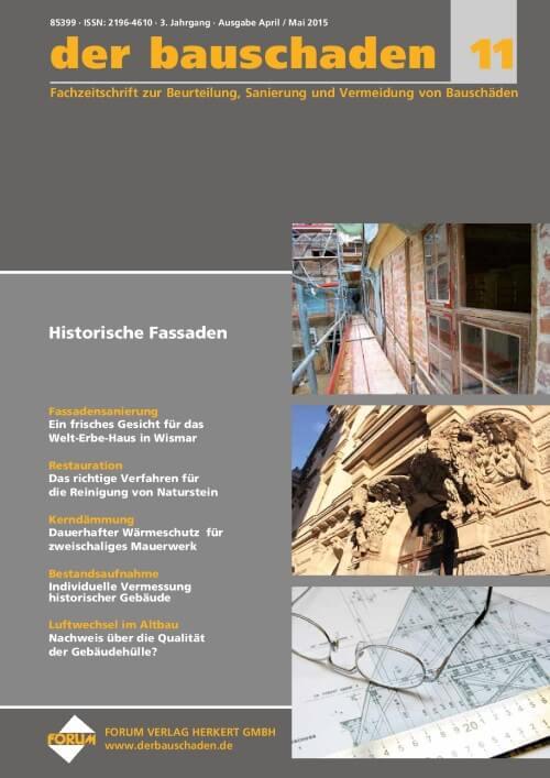 Ausgabe Apr/Mai 2015<br>Historische Fassaden