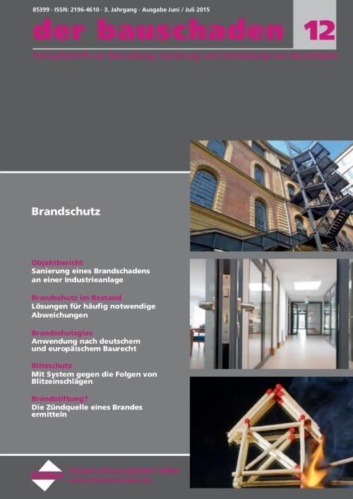 Ausgabe Jun/Jul 2015<br>Brandschutz