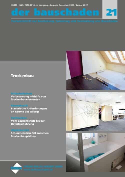 Ausgabe Dez 2016/Jan 2017<br>Trockenbau