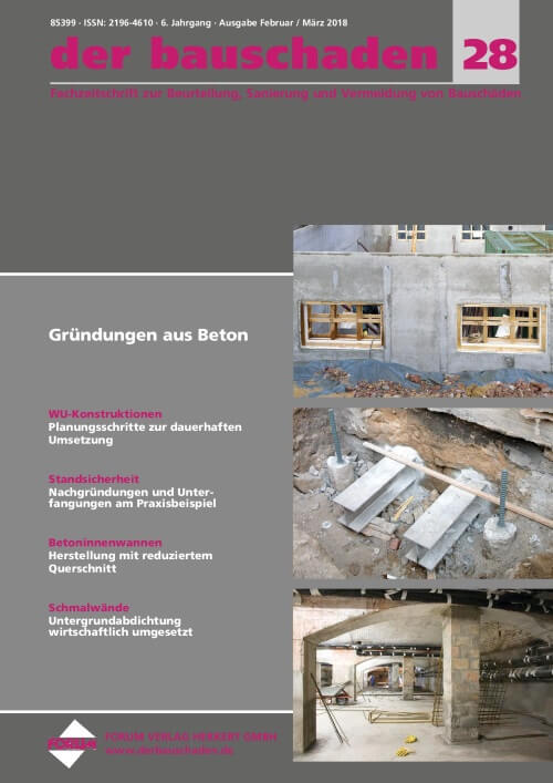 cover der bauschaden 2018-02
