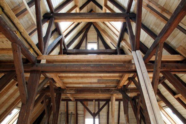 Holzschutztechnische Untersuchung eines Dachraums