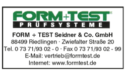 FORM+TEST Seidner & Co. GmbH