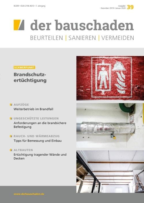 Ausgabe Dez 2019/Jan 2020<br>Brandschutzertüchtigung