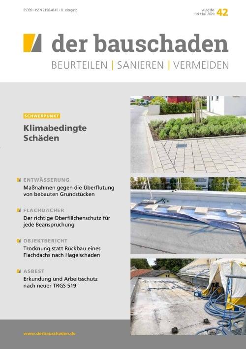Ausgabe Jun/Jul 2020<br>Klimabedingte Schäden