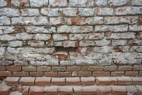 Freigelegtes Mauerwerk