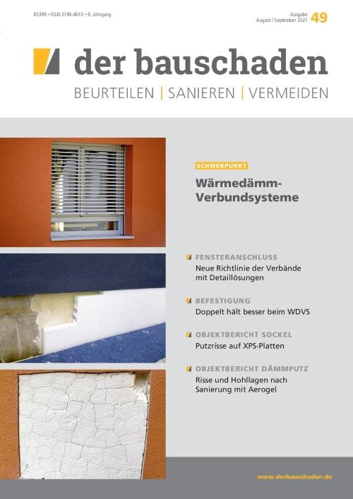 Ausgabe Aug/Sep 2021 Wärmedämm-Verbundsysteme